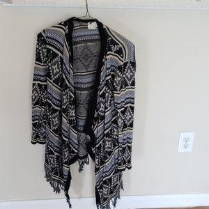 Size S comfy tassel sweater
